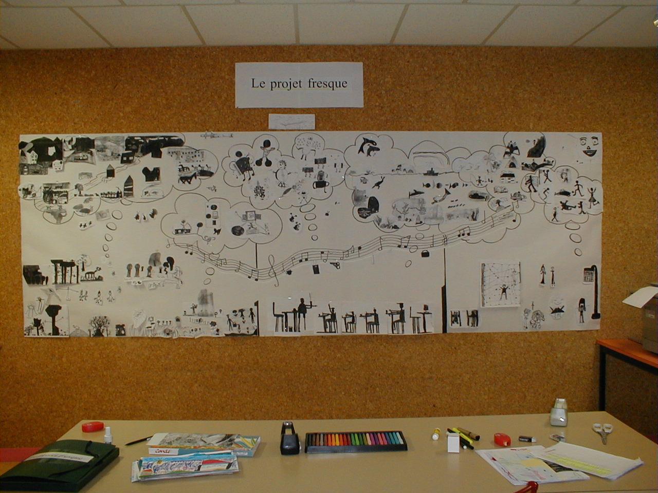 Fresque ext rieur 20m carrelage ing lif decor cole for Fresque murale carrelage
